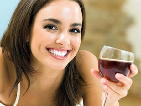 Red wine for anti-aging