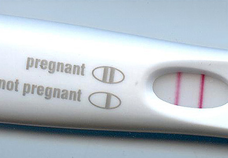 Pregnancy test result