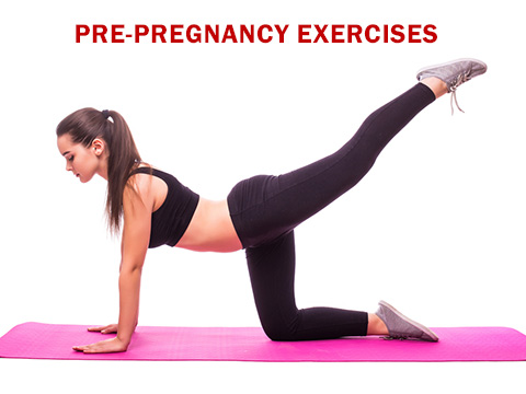Exercises to prepare your body for pregnancy